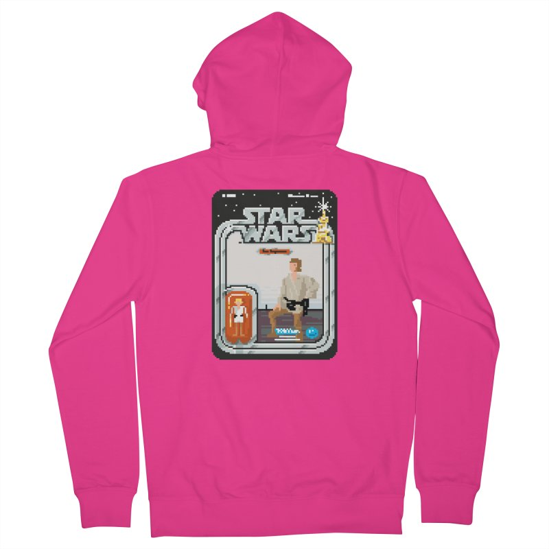 May the Pixels be With You... Always Men's Zip-Up Hoody by euphospug