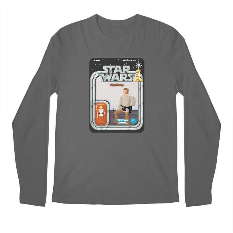 May the Pixels be With You... Always Men's Longsleeve T-Shirt by euphospug