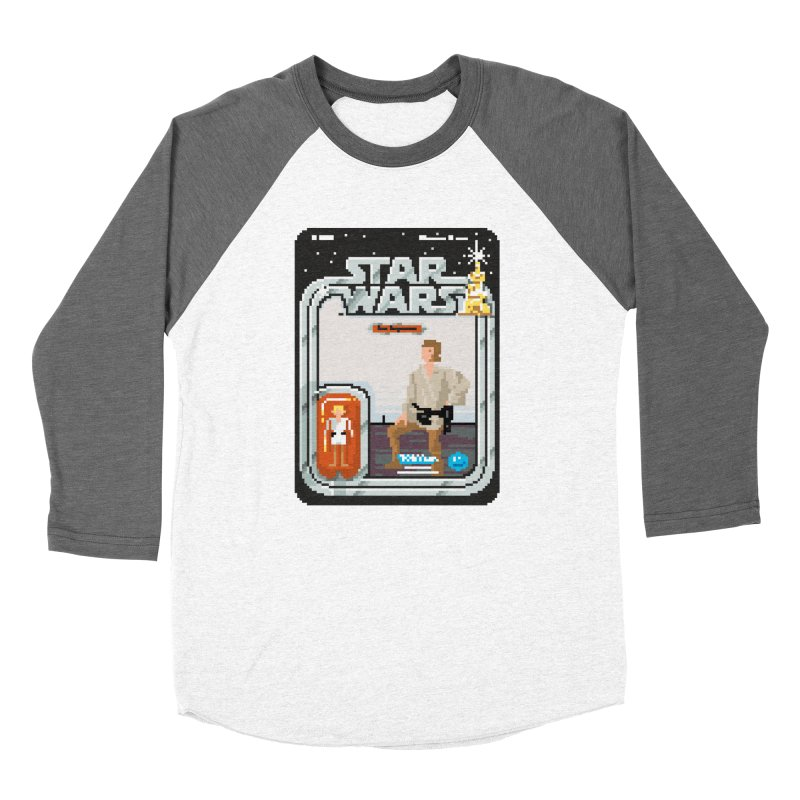 May the Pixels be With You... Always Men's Baseball Triblend T-Shirt by euphospug