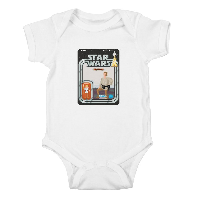 May the Pixels be With You... Always Kids Baby Bodysuit by euphospug