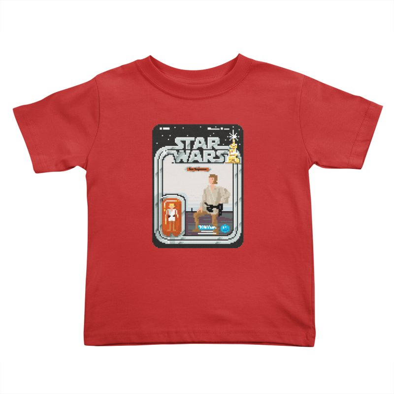 May the Pixels be With You... Always Kids Toddler T-Shirt by euphospug