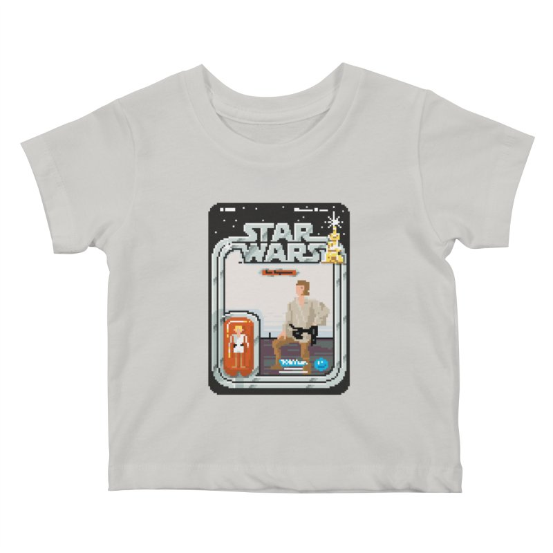 May the Pixels be With You... Always Kids Baby T-Shirt by euphospug