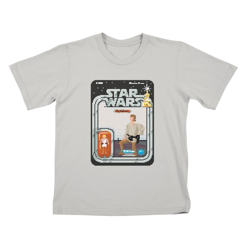 May the Pixels be With You... Always Kids T-shirt by euphospug