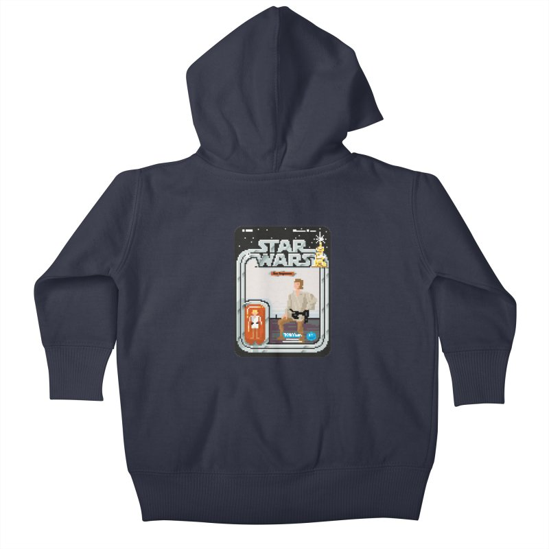 May the Pixels be With You... Always Kids Baby Zip-Up Hoody by euphospug