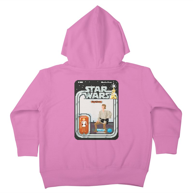 May the Pixels be With You... Always Kids Toddler Zip-Up Hoody by euphospug