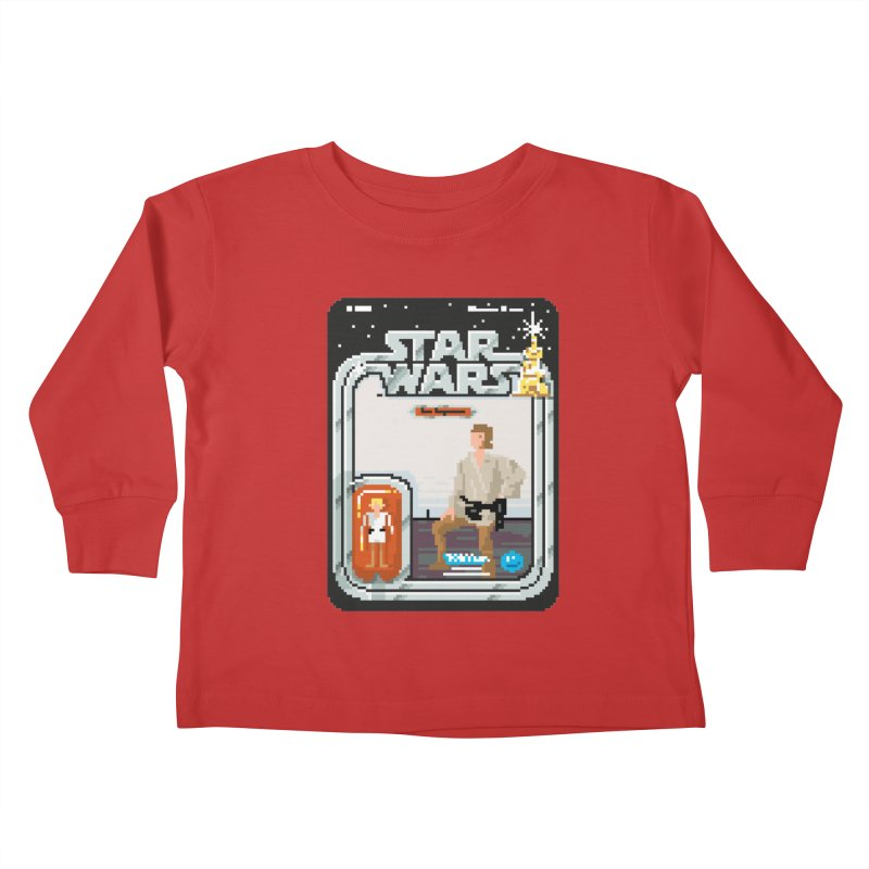 May the Pixels be With You... Always Kids Toddler Longsleeve T-Shirt by euphospug
