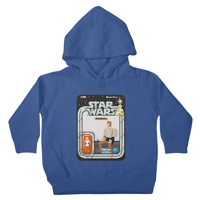 May the Pixels be With You... Always Kids Toddler Pullover Hoody by euphospug