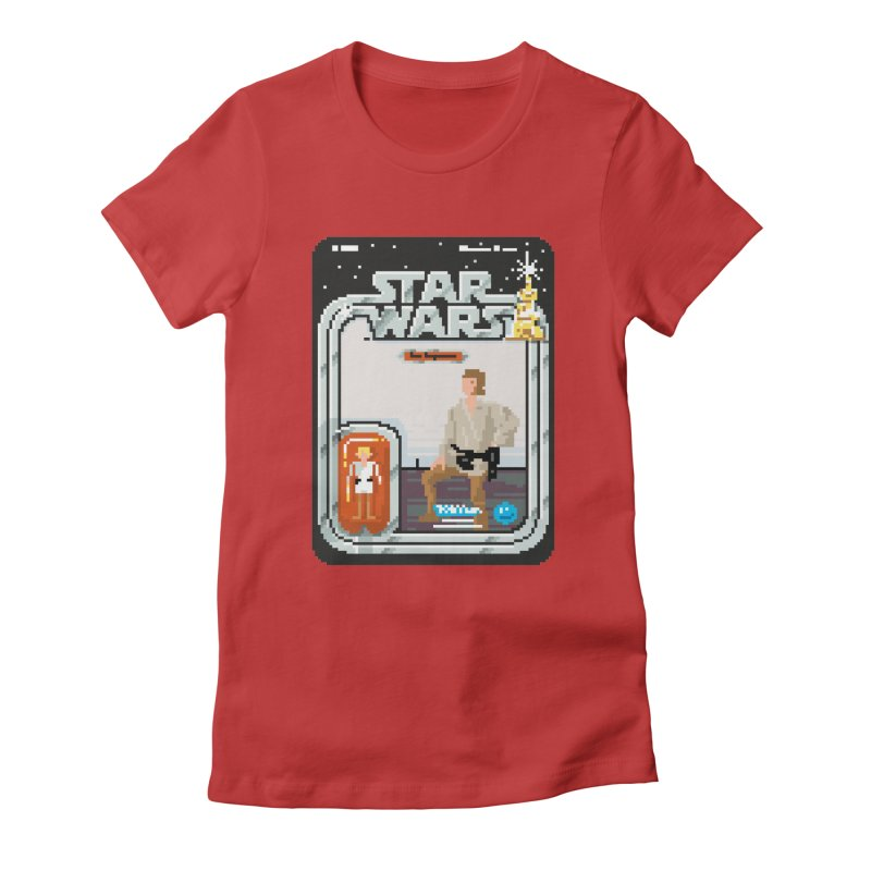 May the Pixels be With You... Always Women's Fitted T-Shirt by euphospug