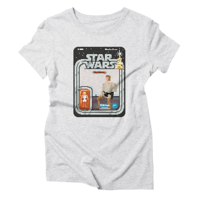 May the Pixels be With You... Always Women's Triblend T-shirt by euphospug