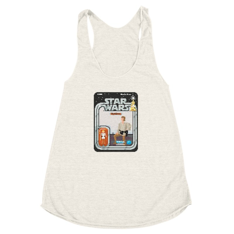 May the Pixels be With You... Always Women's Racerback Triblend Tank by euphospug
