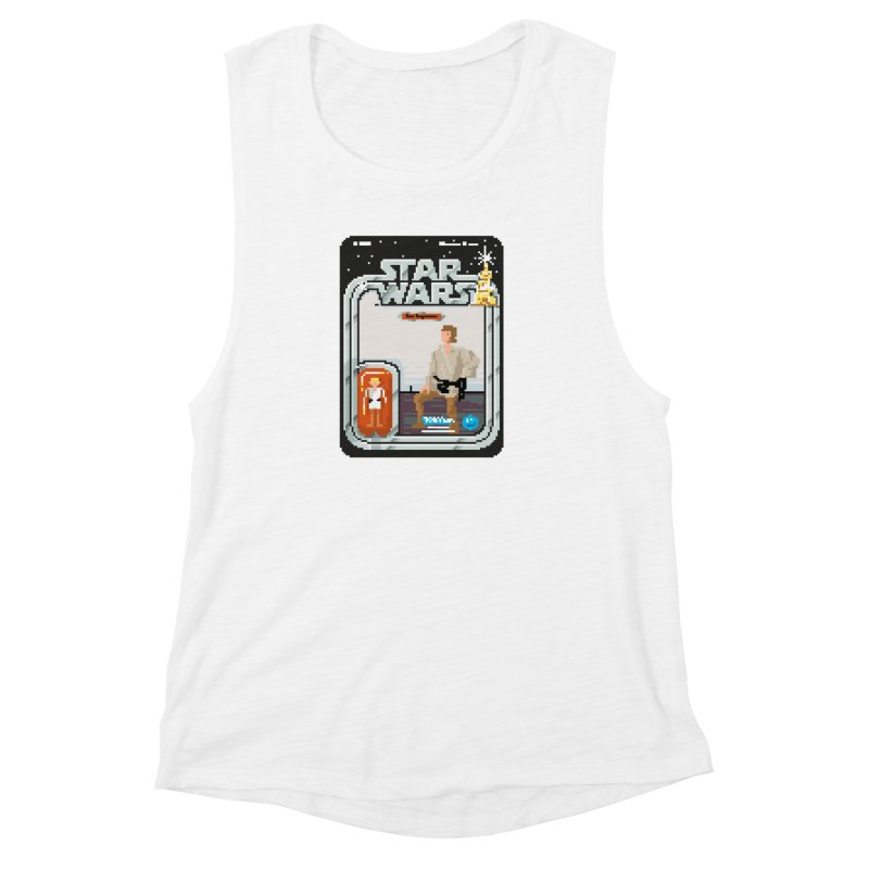 May the Pixels be With You... Always Women's Muscle Tank by euphospug
