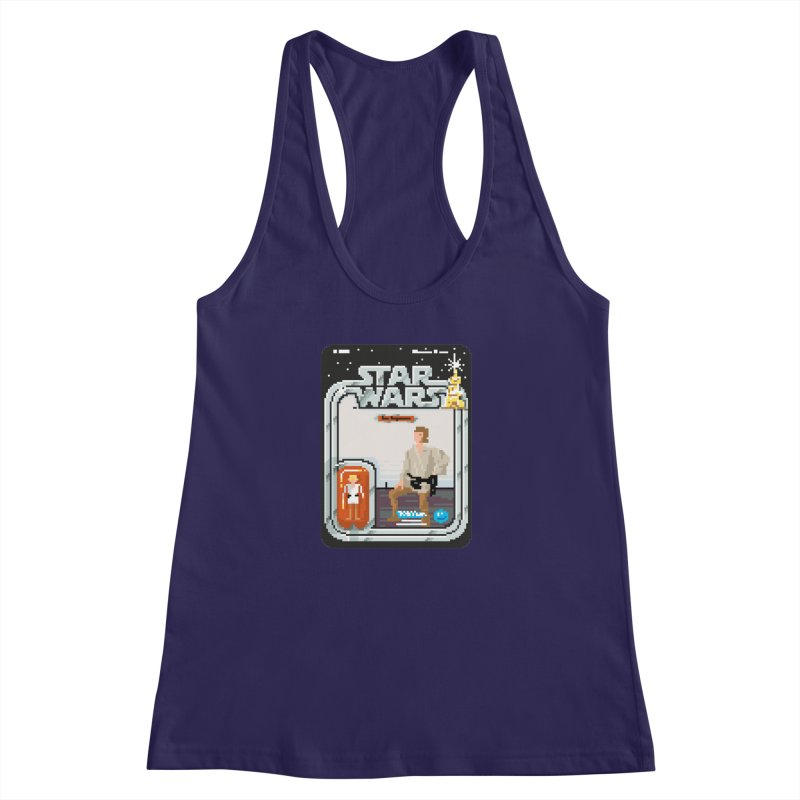 May the Pixels be With You... Always Women's Racerback Tank by euphospug