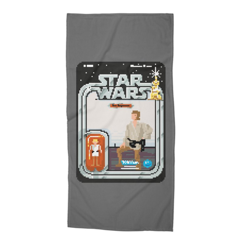 May the Pixels be With You... Always Accessories Beach Towel by euphospug