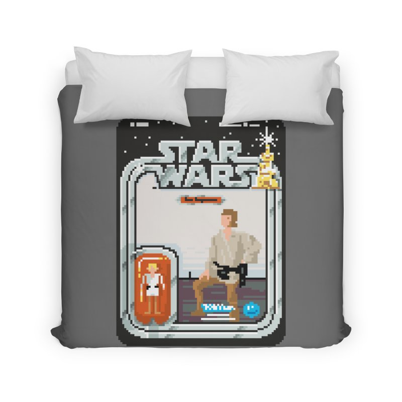 May the Pixels be With You... Always Home Duvet by euphospug