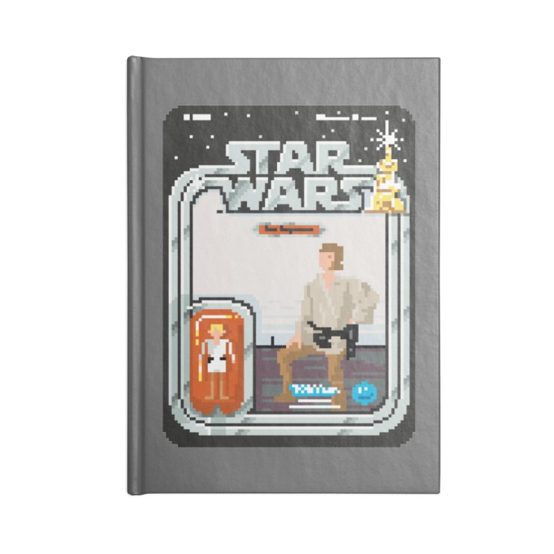 May the Pixels be With You... Always Accessories Notebook by euphospug