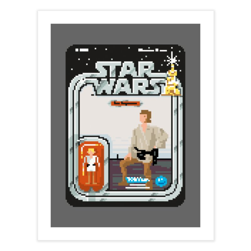 May the Pixels be With You... Always Home Fine Art Print by euphospug