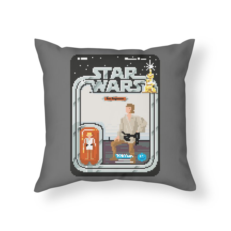 May the Pixels be With You... Always Home Throw Pillow by euphospug