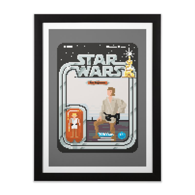 May the Pixels be With You... Always Home Framed Fine Art Print by euphospug