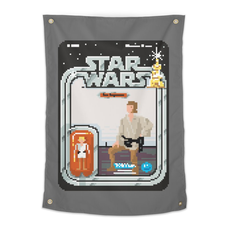 May the Pixels be With You... Always Home Tapestry by euphospug