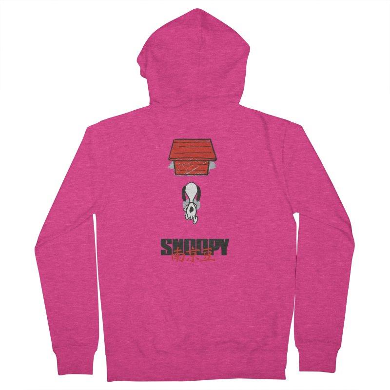 Snoopkira! Women's Zip-Up Hoody by euphospug