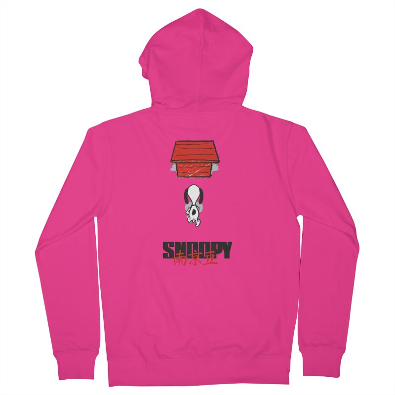 Snoopkira! Men's Zip-Up Hoody by euphospug