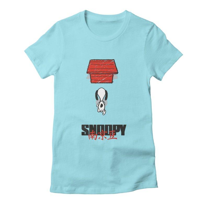 Snoopkira! Women's Fitted T-Shirt by euphospug