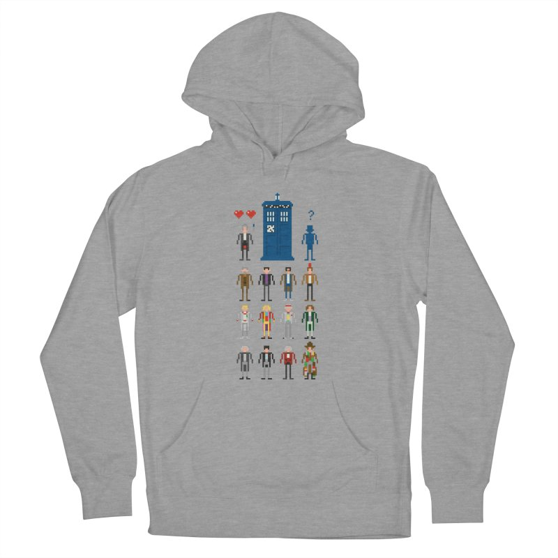 Dr Who's Next? Men's Pullover Hoody by euphospug