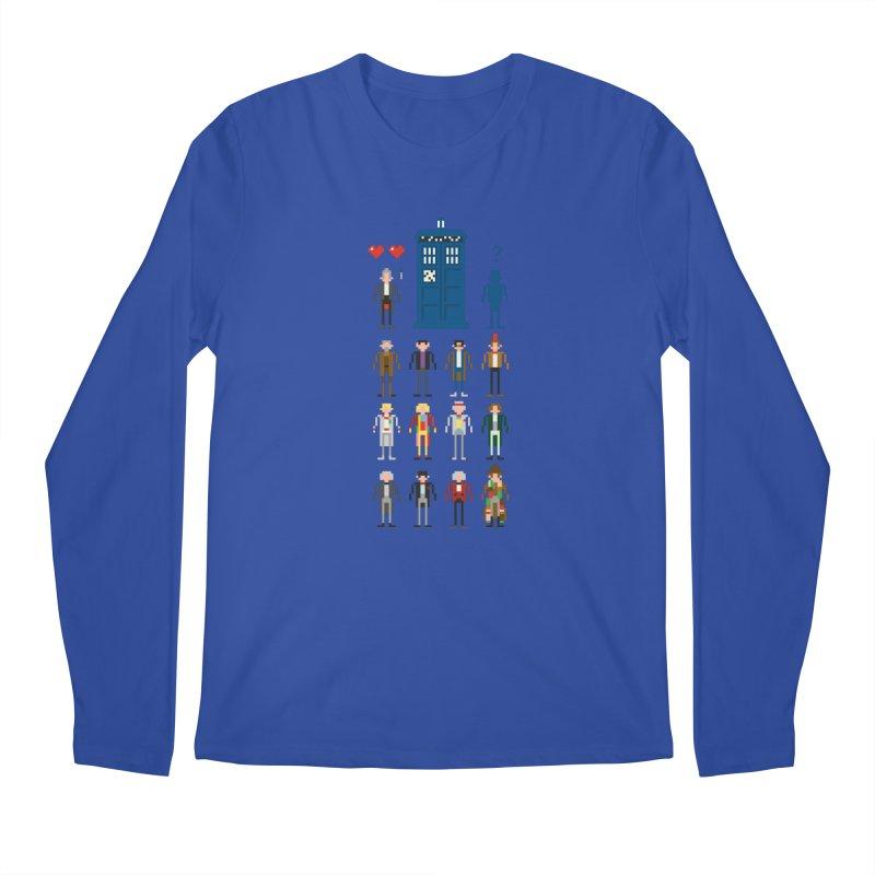 Dr Who's Next? Men's Longsleeve T-Shirt by euphospug
