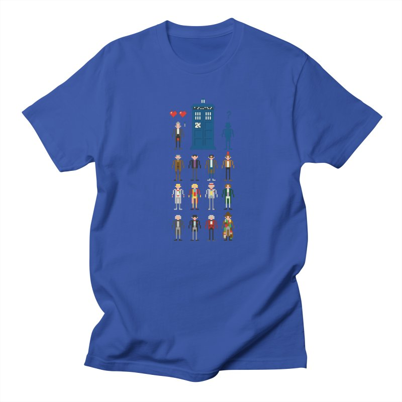 Dr Who's Next? Men's T-Shirt by euphospug