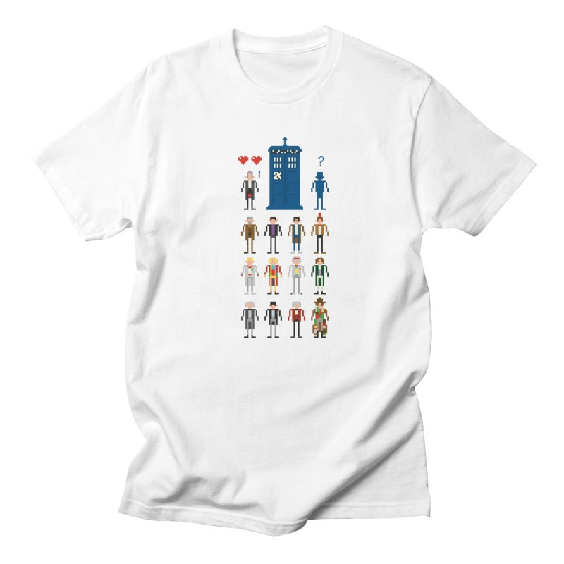 Dr Who's Next? Men's T-shirt by euphospug