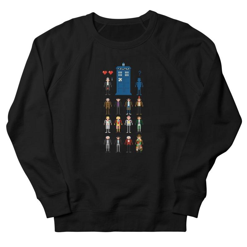 Dr Who's Next? Men's Sweatshirt by euphospug