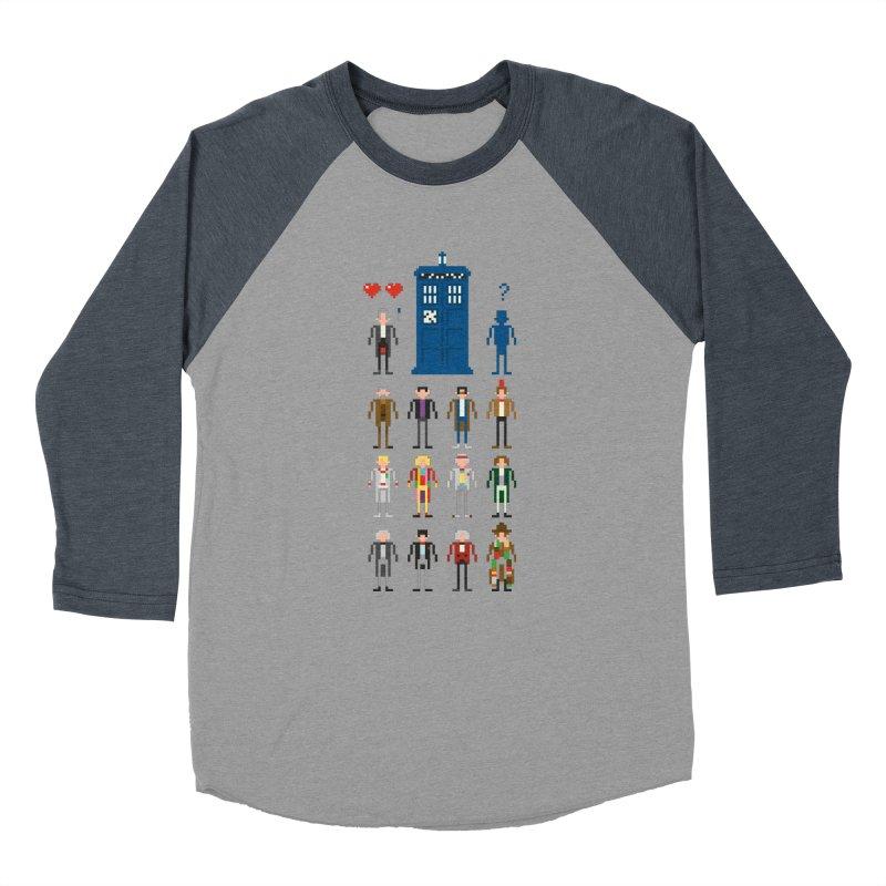 Dr Who's Next? Women's Baseball Triblend T-Shirt by euphospug