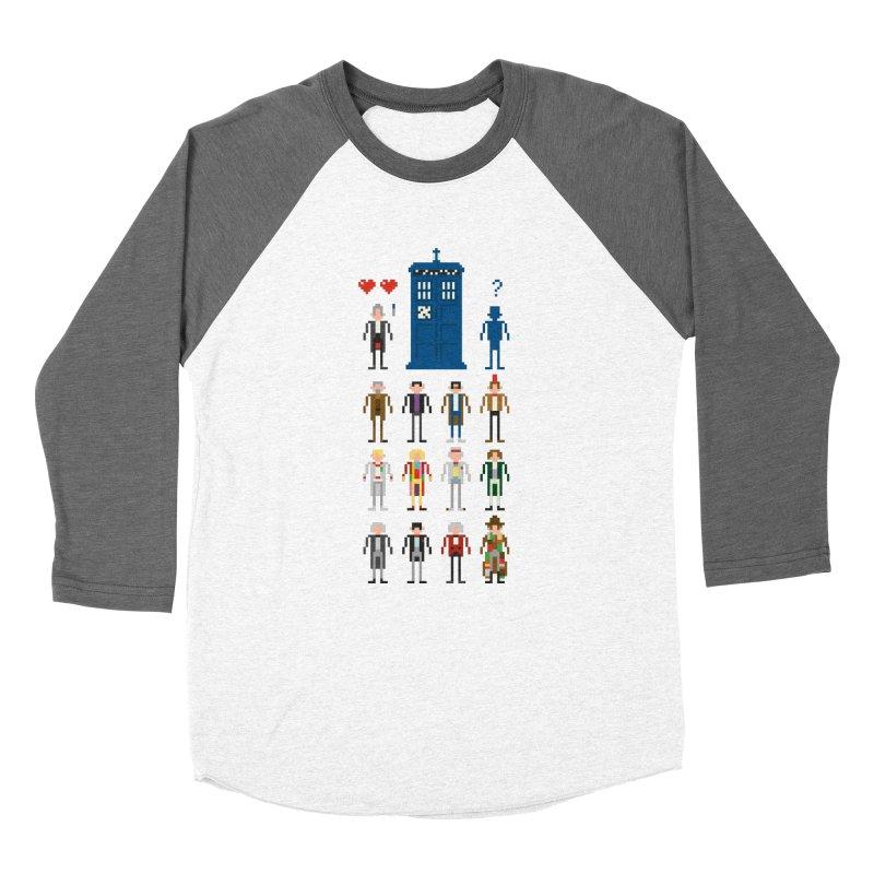 Dr Who's Next? Men's Baseball Triblend T-Shirt by euphospug