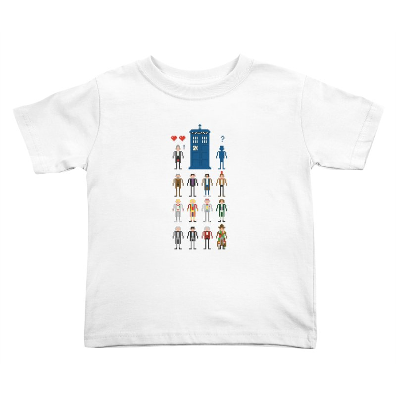 Dr Who's Next? Kids Toddler T-Shirt by euphospug