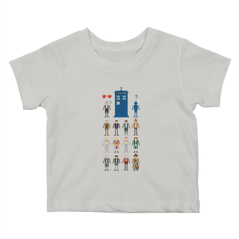 Dr Who's Next? Kids Baby T-Shirt by euphospug
