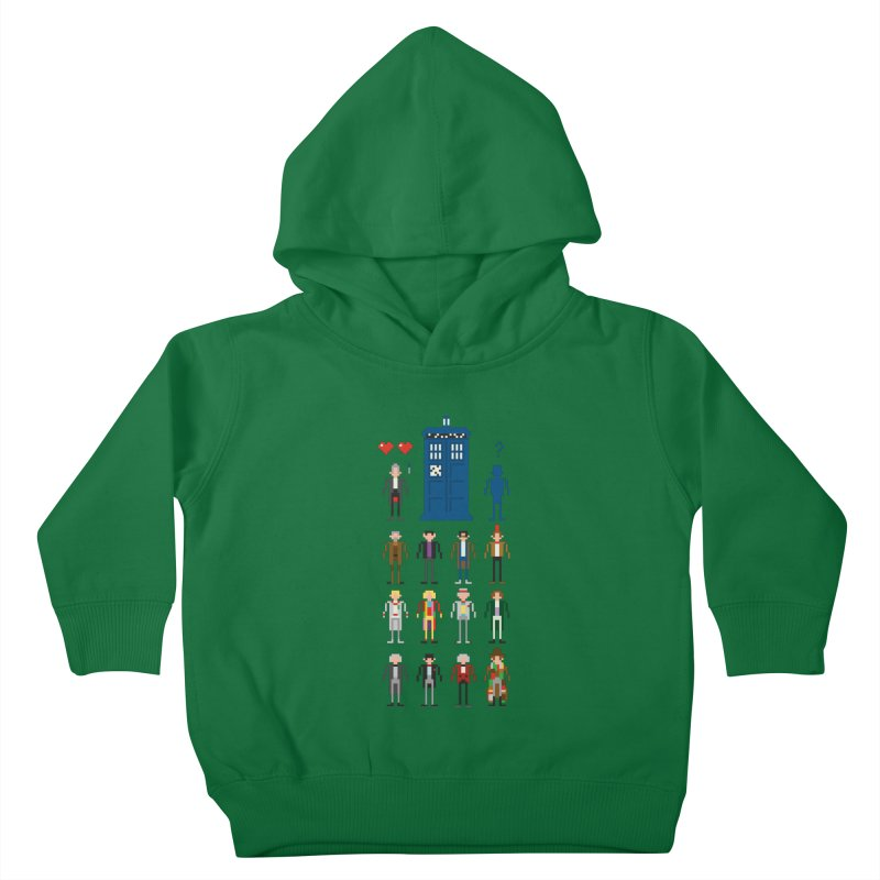 Dr Who's Next? Kids Toddler Pullover Hoody by euphospug