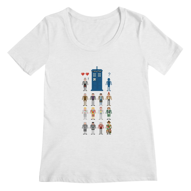 Dr Who's Next? Women's Scoopneck by euphospug