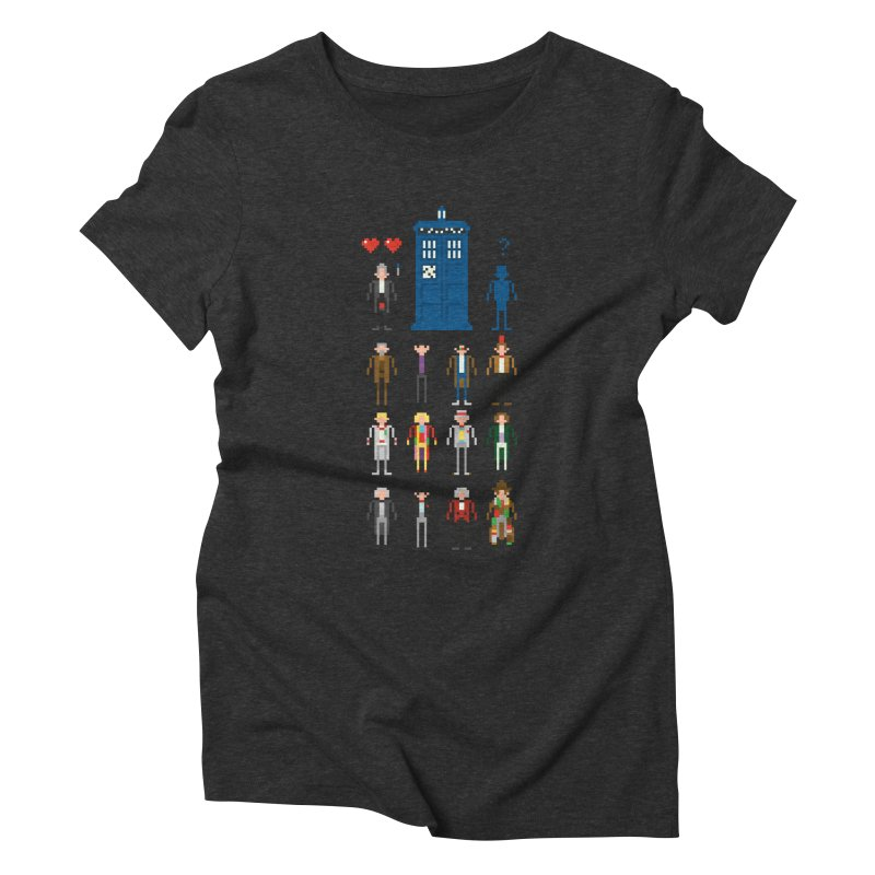 Dr Who's Next? Women's Triblend T-Shirt by euphospug