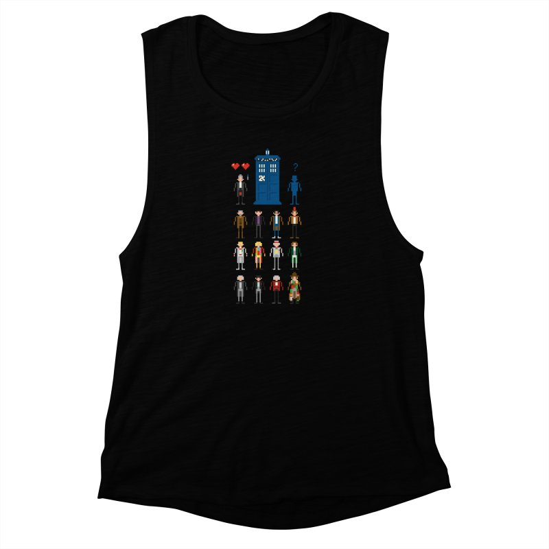 Dr Who's Next? Women's Muscle Tank by euphospug
