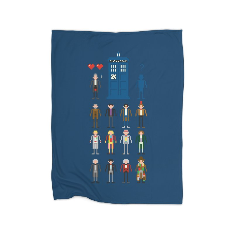 Dr Who's Next? Home Blanket by euphospug