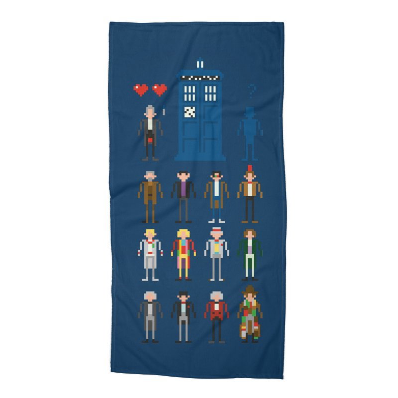 Dr Who's Next? Accessories Beach Towel by euphospug