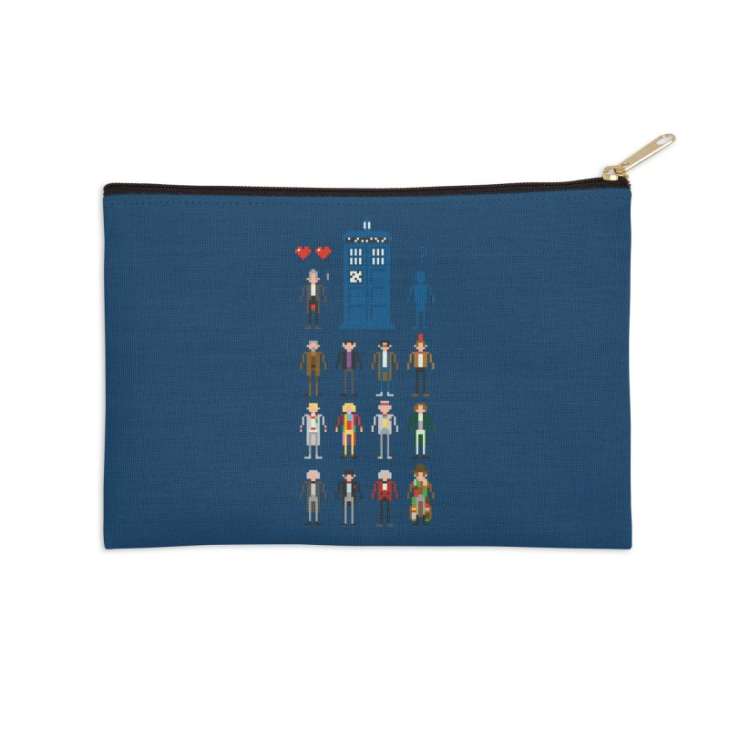 Dr Who's Next? Accessories Zip Pouch by euphospug