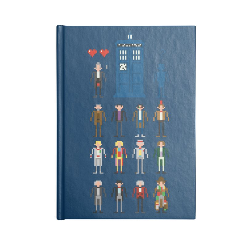 Dr Who's Next? Accessories Notebook by euphospug