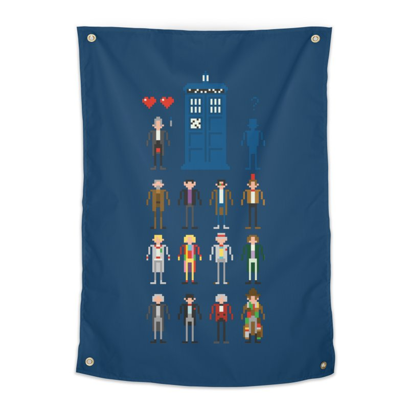 Dr Who's Next? Home Tapestry by euphospug