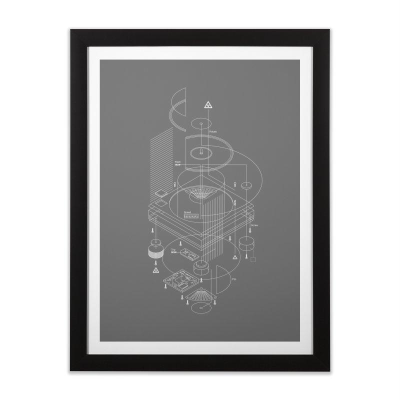 Slick1200 Home Framed Fine Art Print by euphospug