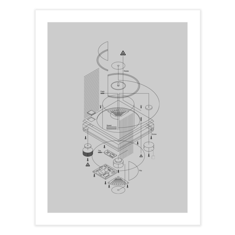 Slick1200alt Home Fine Art Print by euphospug