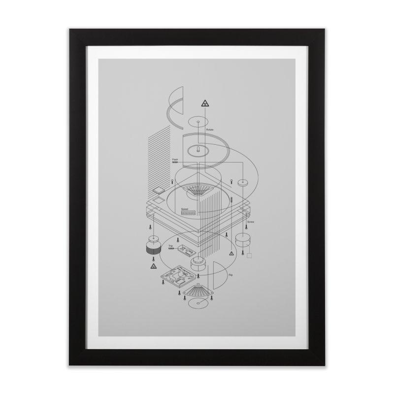 Slick1200alt Home Framed Fine Art Print by euphospug