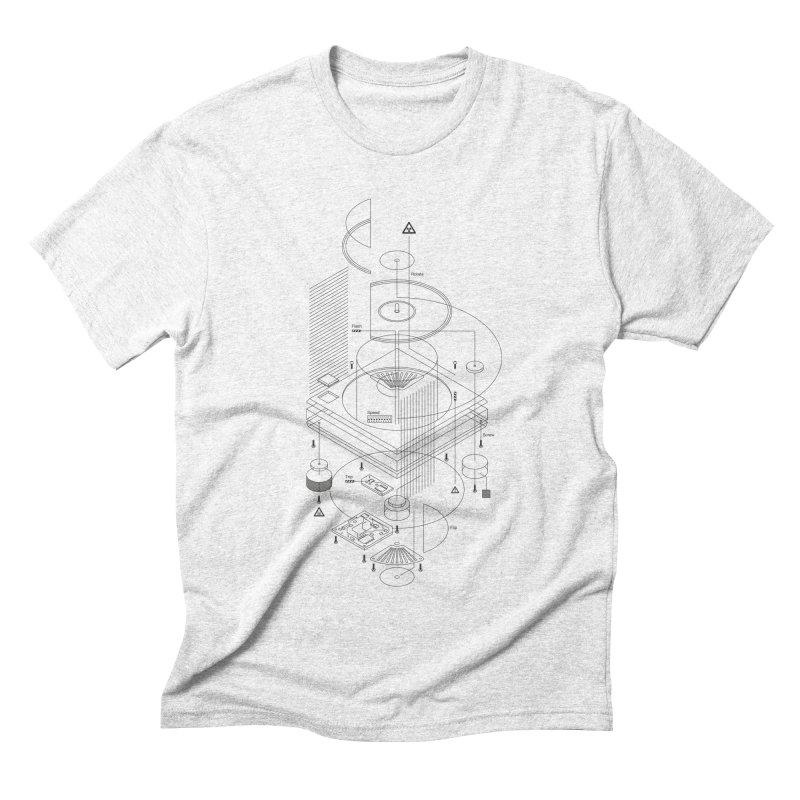 Slick1200alt Men's Triblend T-shirt by euphospug