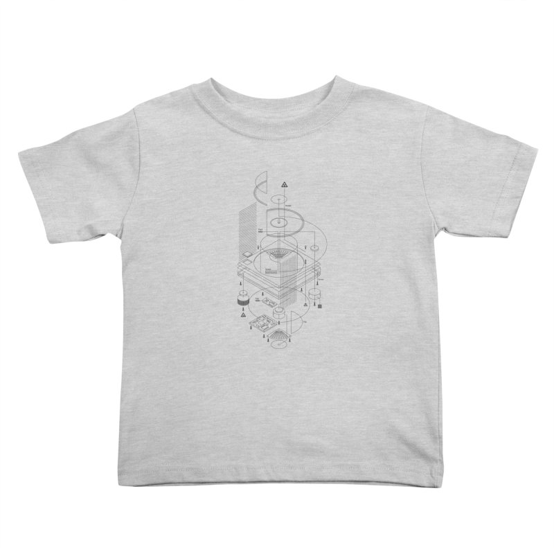 Slick1200alt Kids Toddler T-Shirt by euphospug