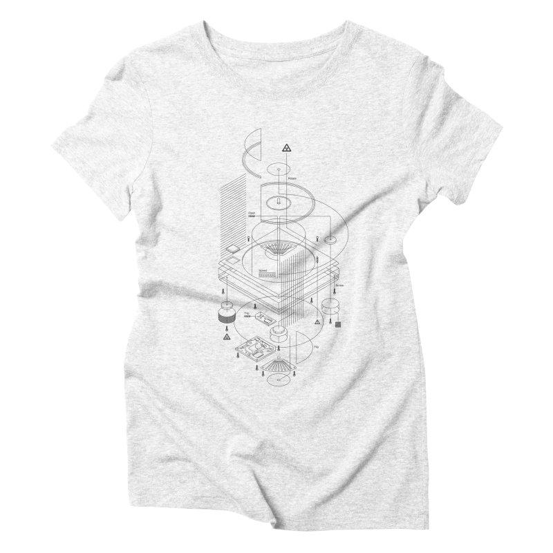 Slick1200alt Women's Triblend T-shirt by euphospug